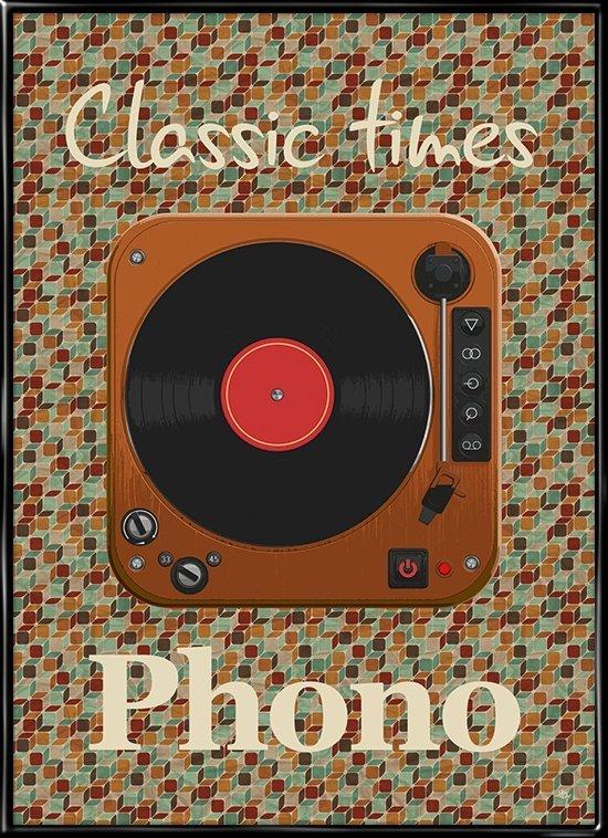 Classic Times, retro plakat fra inda art