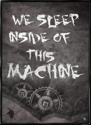 Open Your Mind, plakat fra Inda Art der handler om at bryde fri og tænke selv