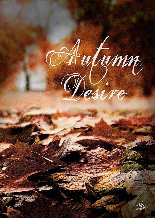 Autumn Desire, postkort fra Inda Art som er en del af Seasons Collection med fire postkort inspireret af hver af de fire årstider