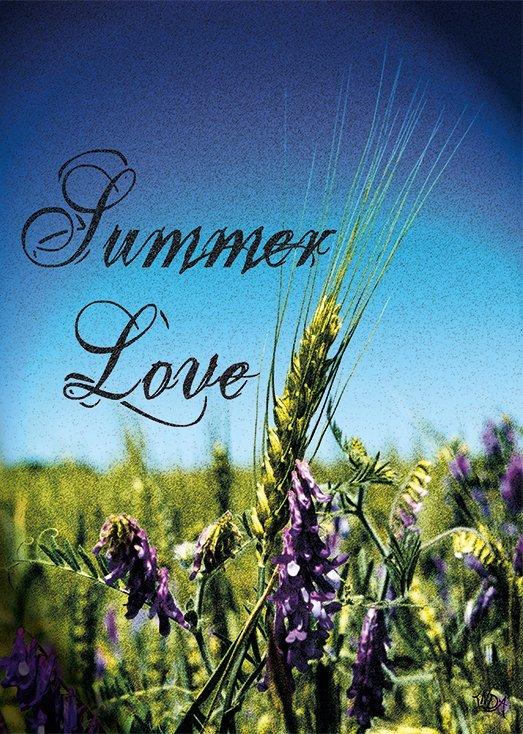 Summer Love, postkort fra Inda Art som er en del af Seasons Collection med fire postkort inspireret af hver af de fire årstider