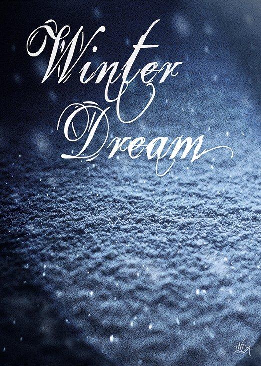 Winter Dream, postkort fra Inda Art som er en del af Seasons Collection med fire postkort inspireret af hver af de fire årstider