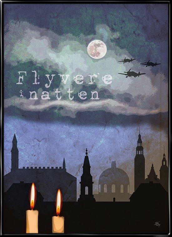 Flyvere i natten, Kim Larsen inspireret plakat fra Inda Art