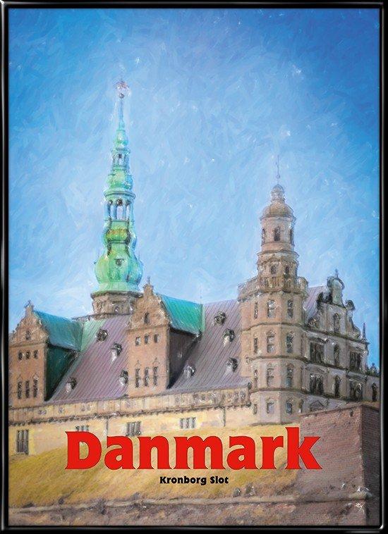 Kronborg, plakat fra Inda Art