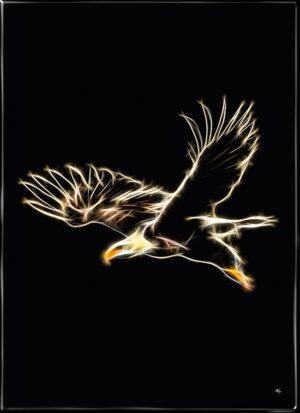 Ørnen, plakat fra Inda Art